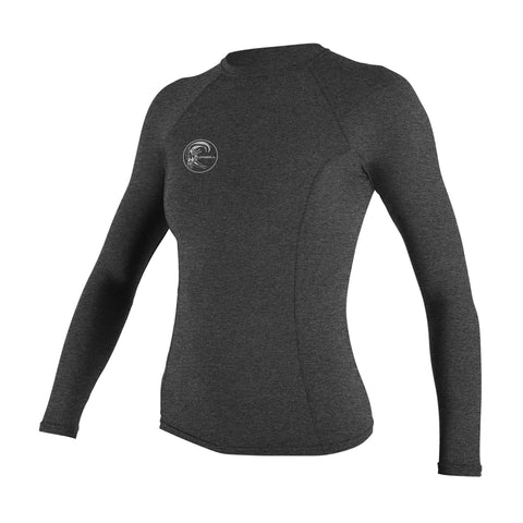 O'Neill Hybrid Long Sleeve Crew Shirt Graphite