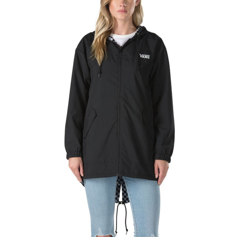 Vans Women's Mercy Reversible Parka - Checkerboard