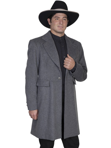 Scully 520929 Men's Wool Blend Frock Coat