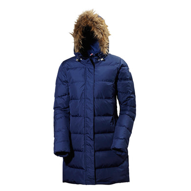 Helly Hansen Women's Aden Down Parka Evening Blue