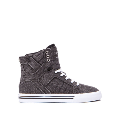 Supra Kids Skytop Sneakers Black - White