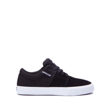 Supra Kids Stacks II Vulc Sneakers Black - White
