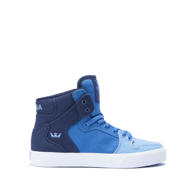 Supra Kids Vaider Sneakers Blue Gradient - White