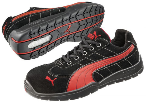Puma Safety Men's Silverstone Low Shoe Red
