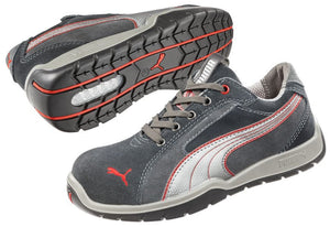 Puma Safety Men's Dakar Low Shoe Grey/Red
