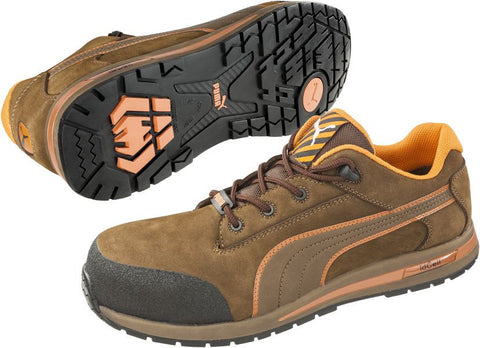 Puma Safety Men's Dash Low Shoe Brown