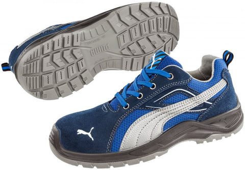 Puma Safety Men's Omni Low Shoe Blue