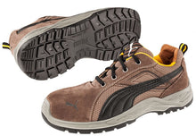 Load image into Gallery viewer, Puma Safety Men's Omni Low Shoe Brown