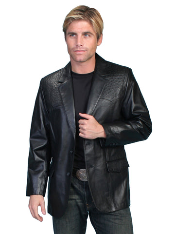 Scully 650 Men's Lambskin Blazer