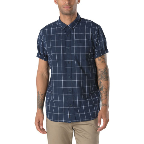 Vans Men's Benham Buttondown Shirt - Dress Blue