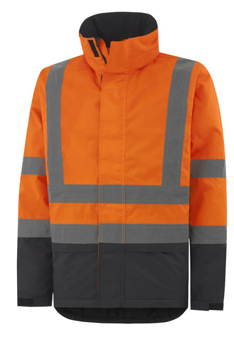 Hi Vis Orange/Charcoal