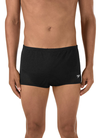 Speedo Men's Solid Poly Mesh Training Suit