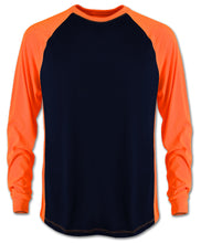 Load image into Gallery viewer, Navy/Safety orange