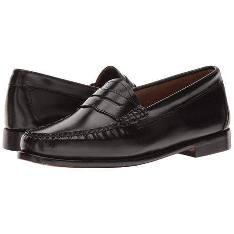 G.H. Bass & Co. Women's Whitney Penny Loafer Black Box Leather