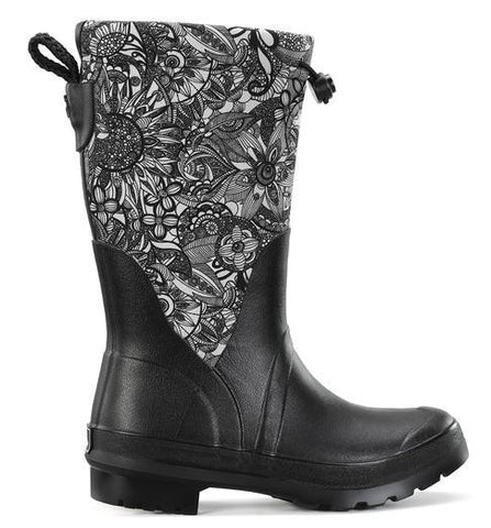 Sakroots Women's MEZZO Tall Rainboot