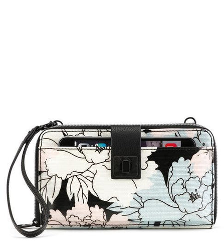 Sakroots Women's Artist Circle Large Smartphone Crossbody