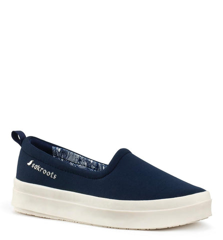 Sakroots Womens slip on Navy