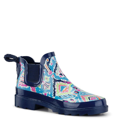 Sakroots Women's Rhyme Ankle Rain Boot