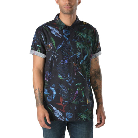 Vans Men's Neo Jungle Buttondown Shirt - Neo Jungle Buttondown Shirt
