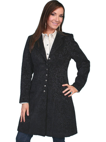 Scully 740099 Women's Chenille Frock Coat