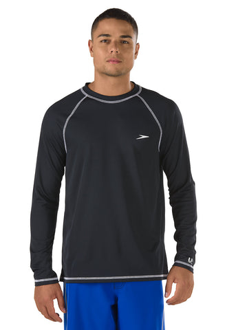 Speedo Mens Easy Long Sleeve Swim Shirt
