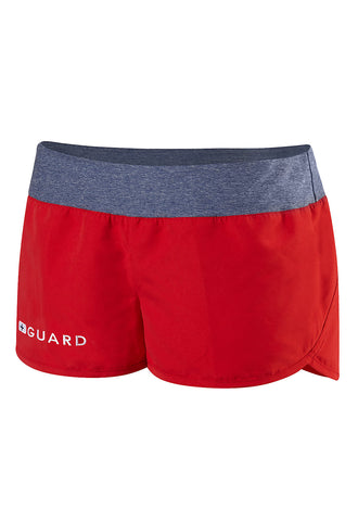 Speedo Women's Guard Stretch Waistband Short
