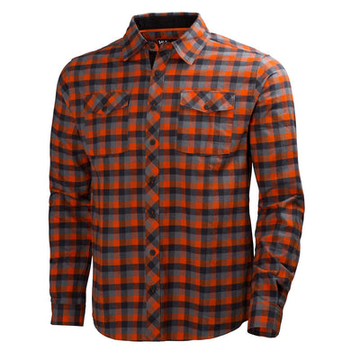 Dark Orange Check