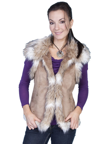 Scully  faux fur vest.