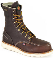 "Load image into Gallery viewer, Thorogood 804-3800 Men's 8"" Moc Toe, MAXwear Wedge Waterproof Safety Toe"