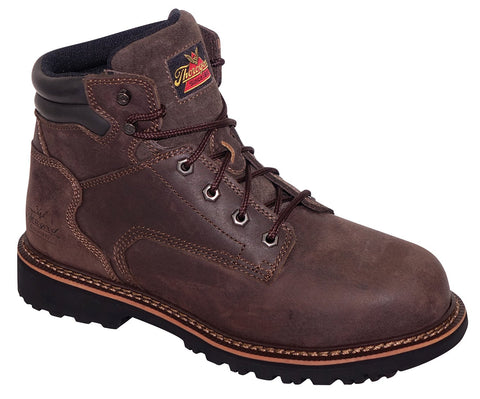 "Thorogood 804-4278 Men's V-Series 6"" Safety Toe Work Boots"