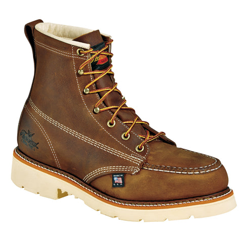 "Thorogood 804-4375 Mens 6"" Moc Toe - Safety Toe"
