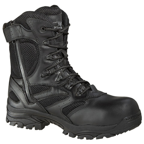 "Thorogood 804-6191 Unisex Side Zip 8"" WP Deuce Boot"