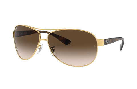 Frame Color: Gold; Tortoise / Lense Color: Brown Gradient