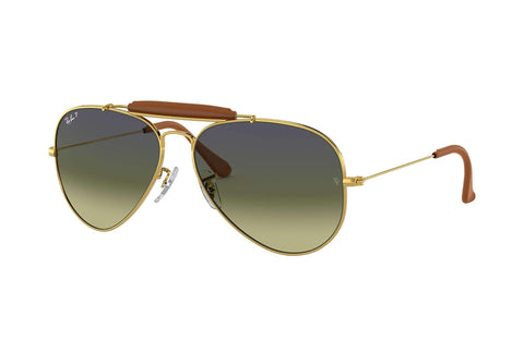 Frame Color: Gold / Lense Color: Polarized Green Classic G-15