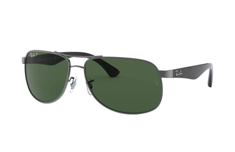 Frame Color: Gunmetal; Black / Lense Color: Polarized Green Classic G-15