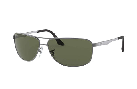 Frame Color: Matte Gunmetal / Lense Color: Polar Green