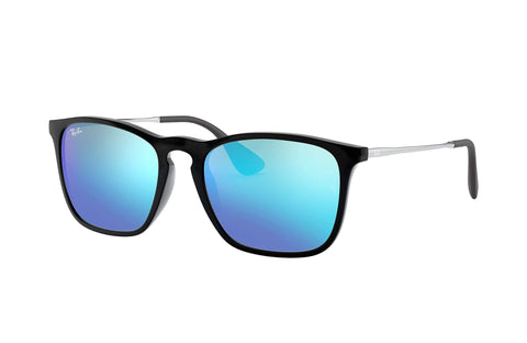 Frame Color: Black; Gunmetal / Lense Color: Blue Mirror