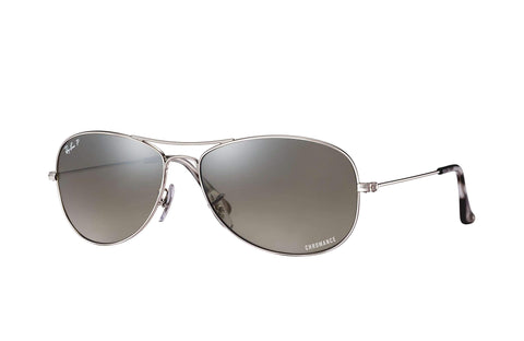 Frame Color: Silver / Lense Color: Polarized Silver Mirror Chromance