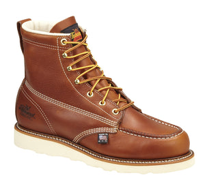 "Thorogood 814-4200 Men's American Heritage 6"" Moc Toe, MAXWear Wedge Non-Safety Toe Work Boots"