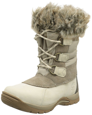 Timberland Kid's Blizzard Bliss Snow Boots Winter White