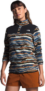 Blue Wing Teal Zion Stripe Print/TNF Black