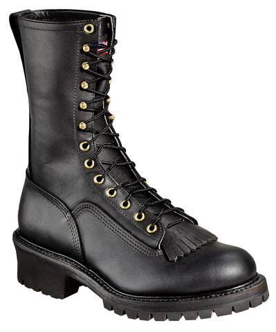 "Thorogood 834-6371 Mens 10"" Wildland Fire Boot With Removable Kiltie"