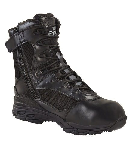 "Thorogood 834-6529 8"" ASR Tactical Side Zip Waterproof Boot"
