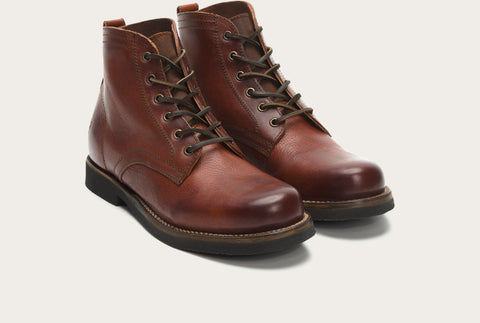 Frye Men's Roland Lace Up Redwood