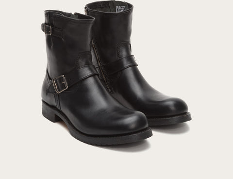 Frye Men's Logan Engineer Inside Zip Black