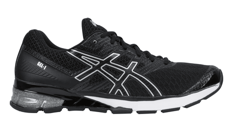 ASICS Men's GEL-1 Running Shoe - Black/Onyx/Silver