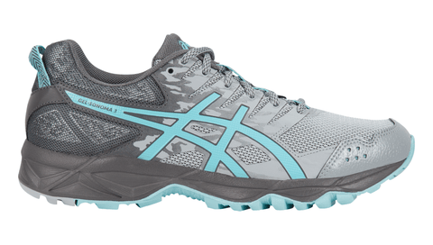 ASICS Women's GEL-Sonoma™ 3 (Wide) Running Shoe - Midgrey/Aqua Splash/Carbon