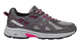 ASICS Women's GEL-Venture® 6 Running Shoe - Carbon/Black/Pink Peacock