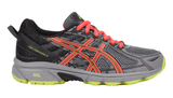 ASICS Women's GEL-Venture® 6 Running Shoe - Phantom/Coral/Lime