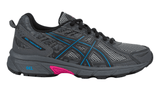 ASICS Women's GEL-Venture® 6 Running Shoe - Black/Island Blue/Pink